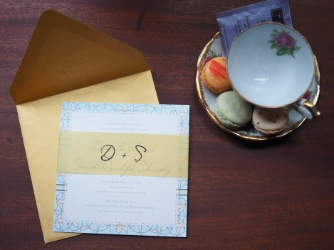 Wedding Invitations: Danielle & Stuart